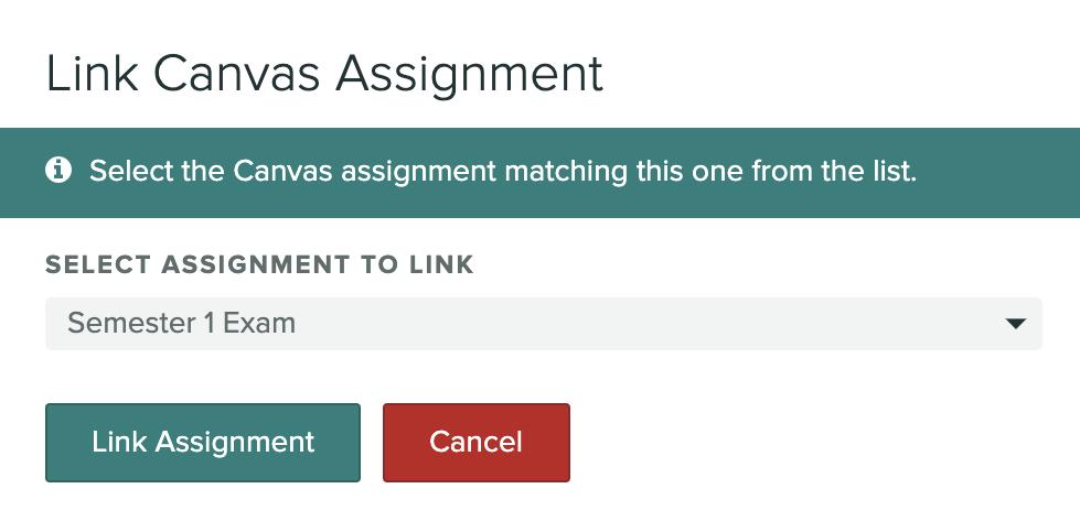 Link Assignment