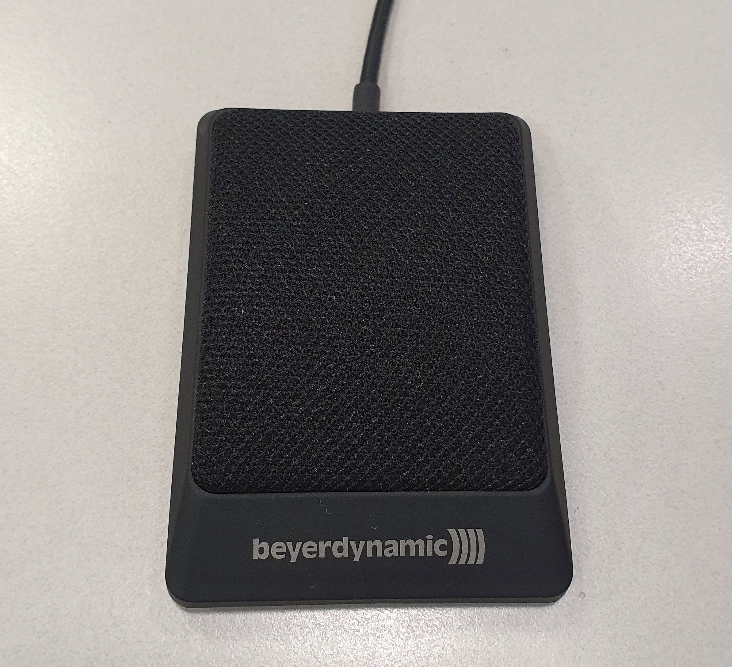 Microphone found on student pod