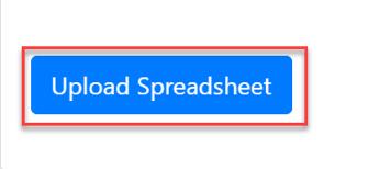 Upload spreadsheet button