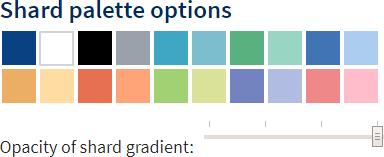 Shard palette options