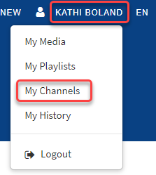 Access My Channels