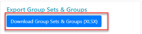 Download Group Sets & Groups button